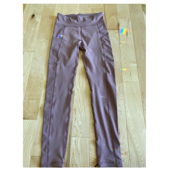 Aeropostale purple/pink leggings